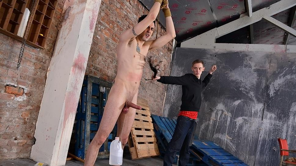 Roped Into Anal Submission Reece Bentley And Kieron Knight