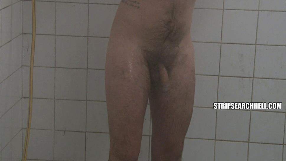 Prisoner Hosed Down In The Showers StripSearchHell