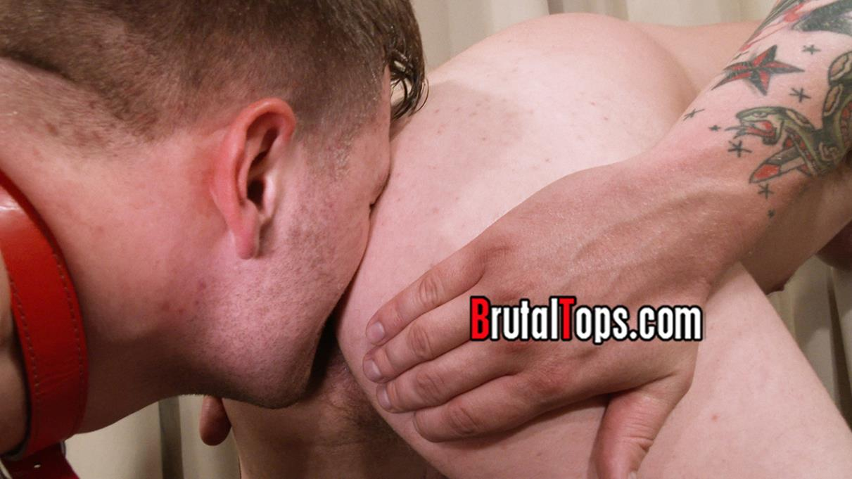 BrutalTops - Master Aaron Cruelly Whips His Subs Arse BrutalTops