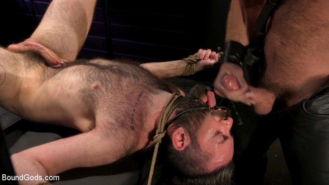 SEX RELIEF: New boy's self care is BDSM - Colby Jansen & Buster Rhodes BoundGods