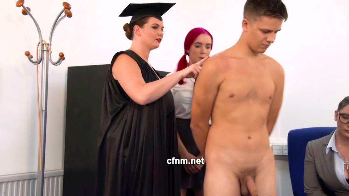 CFNM - Bad Boy Chris Gets His Arse Spanked CFNM