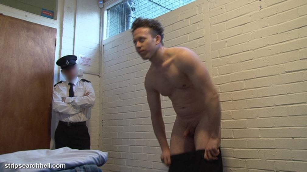 Strip Search Black Gay Porn Photo