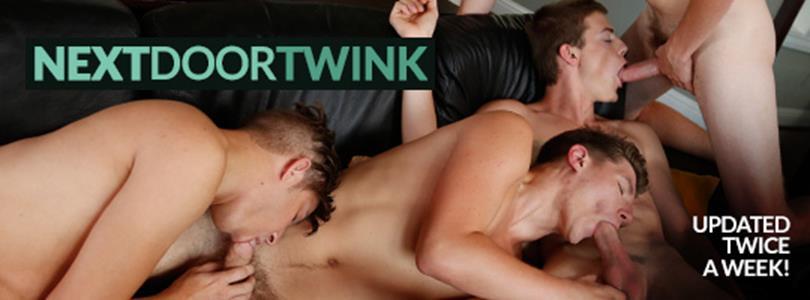 NextDoorTwink - Learning to Play Together - Scott Finn, Tyler Lakes, Cyrus Stark NextDoorTwink