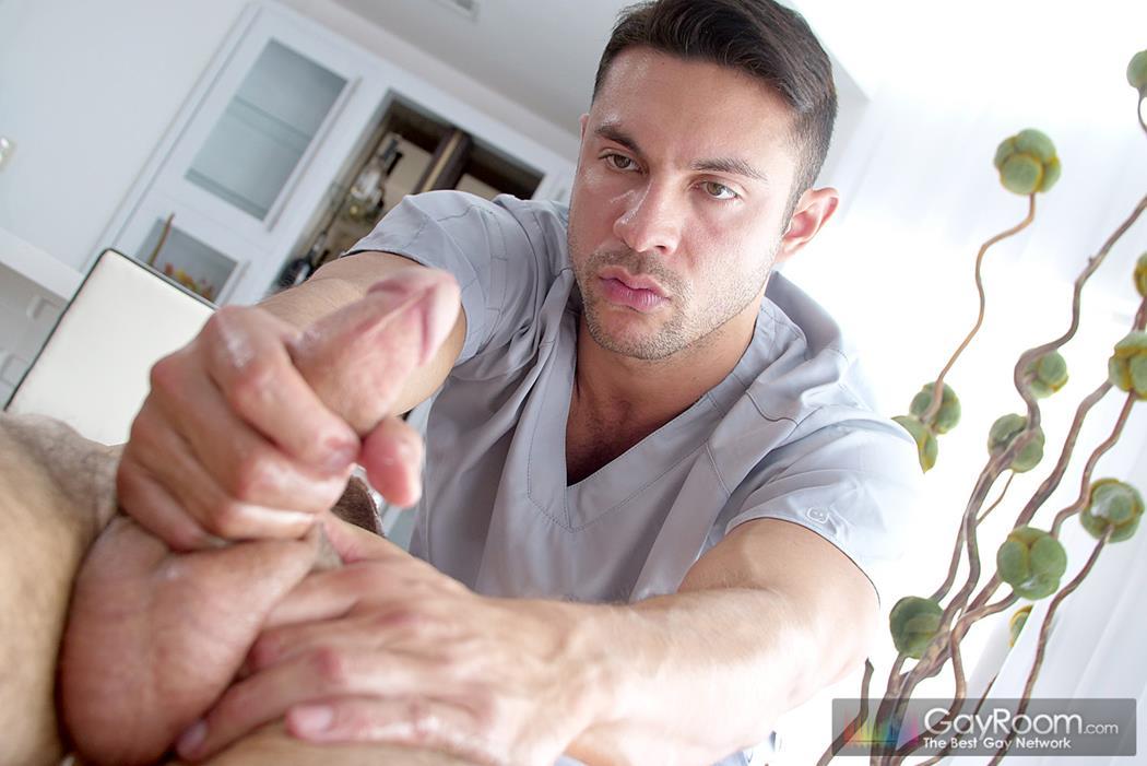 Massage Bait - The In-Call Massage - Seth Santoro, Bryson Belair GayRoom