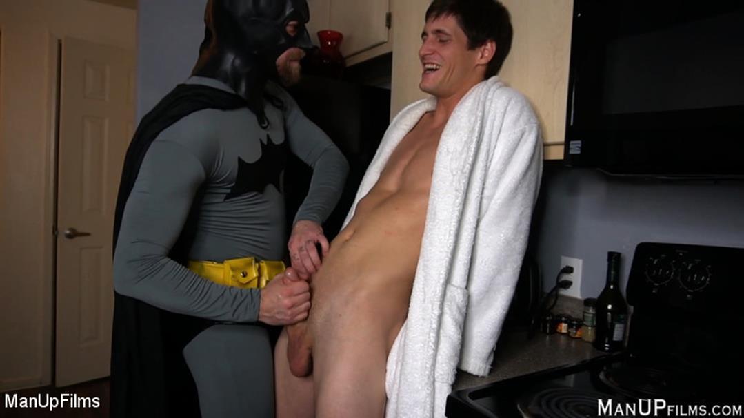 KinkMen - Batman Tickles Tony Orlando - Mike Panic, Tony Orlando KinkMen