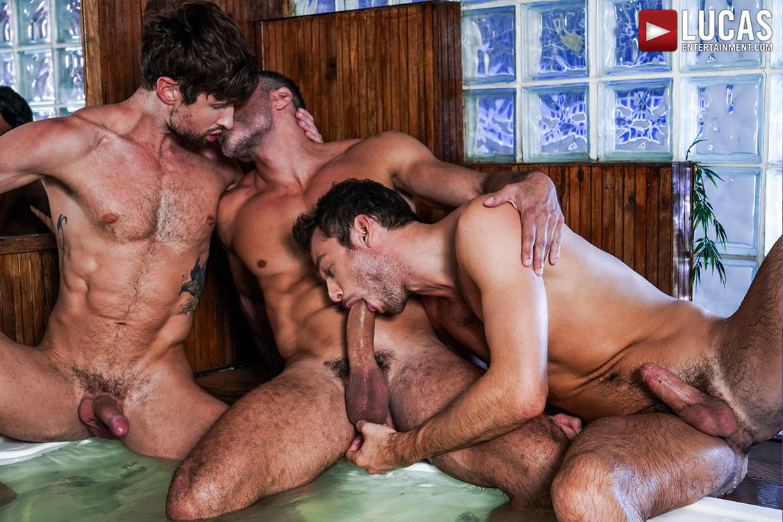 LucasEntertainment - Drew Dixon Submits To Manuel Skye And Max Adonis Lucas Entertainment