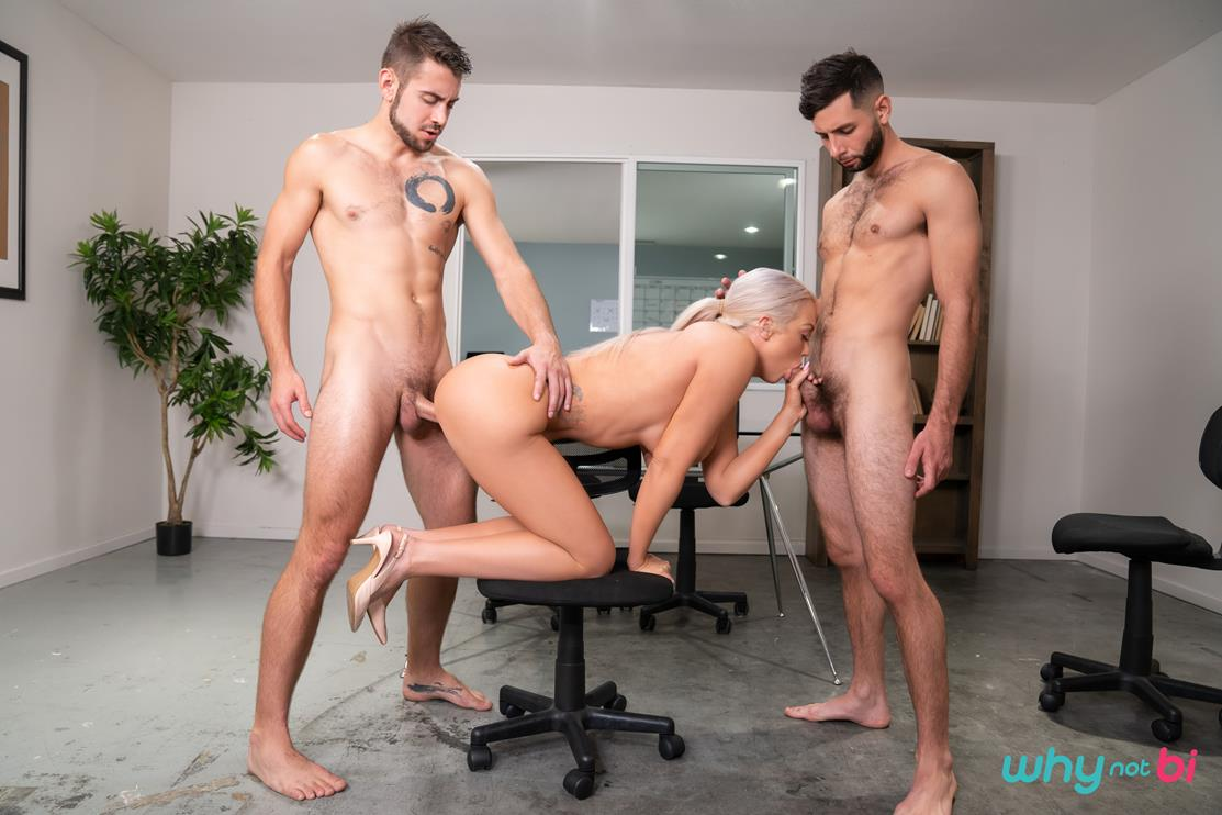 WhyNotBi - Anal Innovation - Brook Paige, Dante Colle, Argos Santini WhyNotBi
