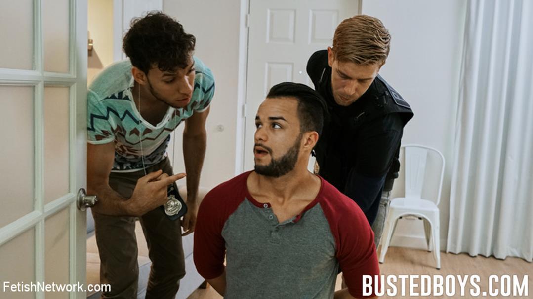 KinkMen - Javier Cruz - Rent-Boy Bets Wrecked by Undercover Cops KinkMen