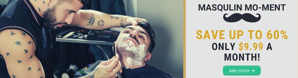 Masqulin - Movember Moment - Brock Banks, Ian Greene Masqulin