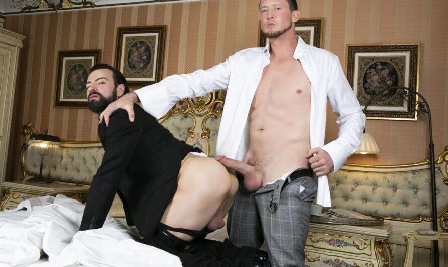 MenAtPlay – Butler Service – Miguel Angel, Pierce Paris