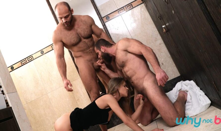 WhyNotBi – Strap Him in the Shower – Sarah Key, Tomm, Jerry