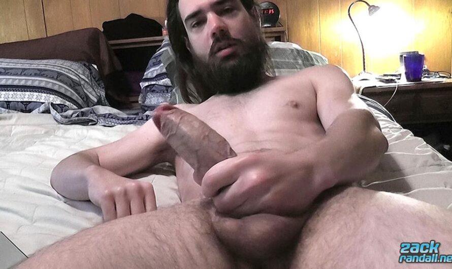 ZackRandall – Squirting Cum In His Beard – Zack Randall