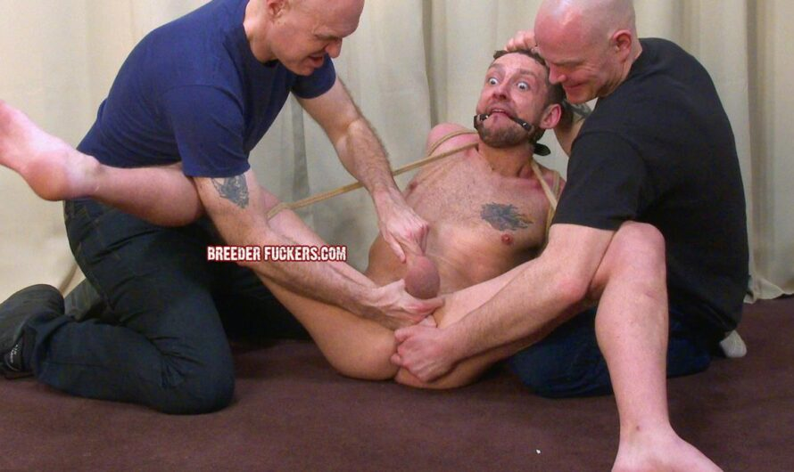 BreederFuckers – Scally Lad Stripped, Bound & Groped