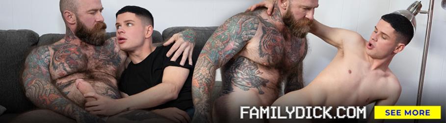 FamilyDick - Jerk Bathroom - Brendan Roberts, Logan Roberts FamilyDick