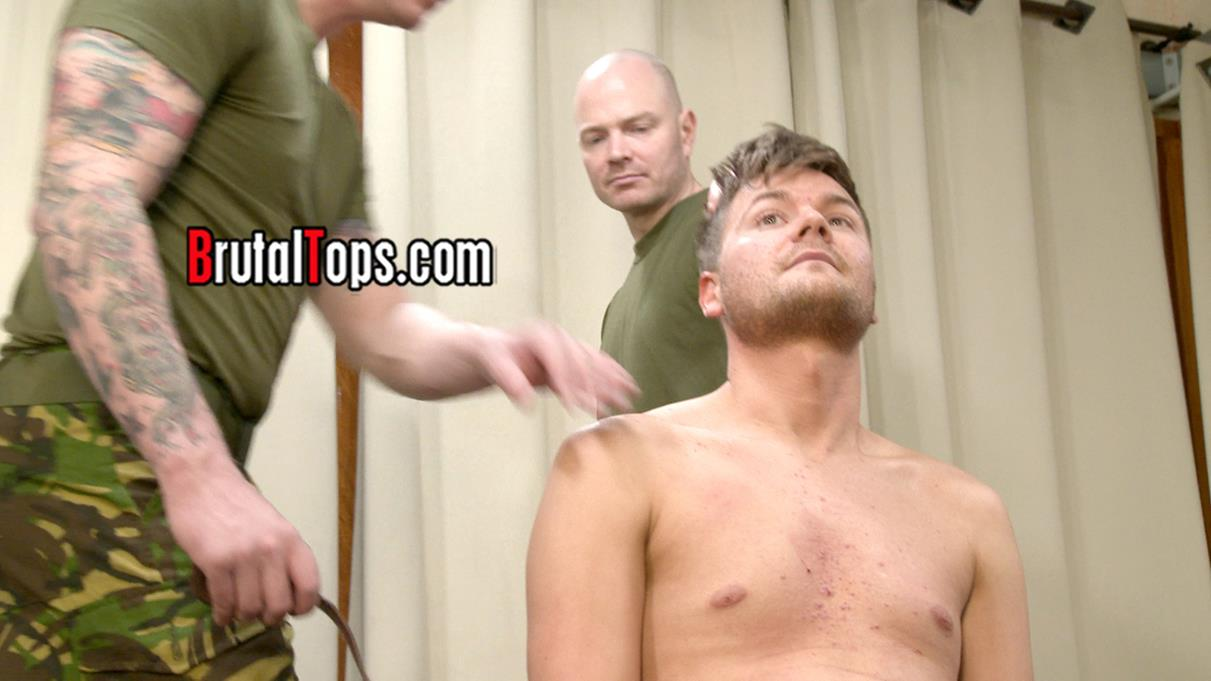 BrutalTops – Master Dave and Master Aaron Trample On Their Sub