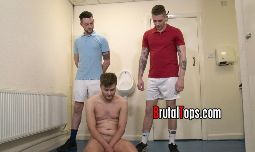 BrutalTops – Masters Aaron and Martin Piss On Their Sub