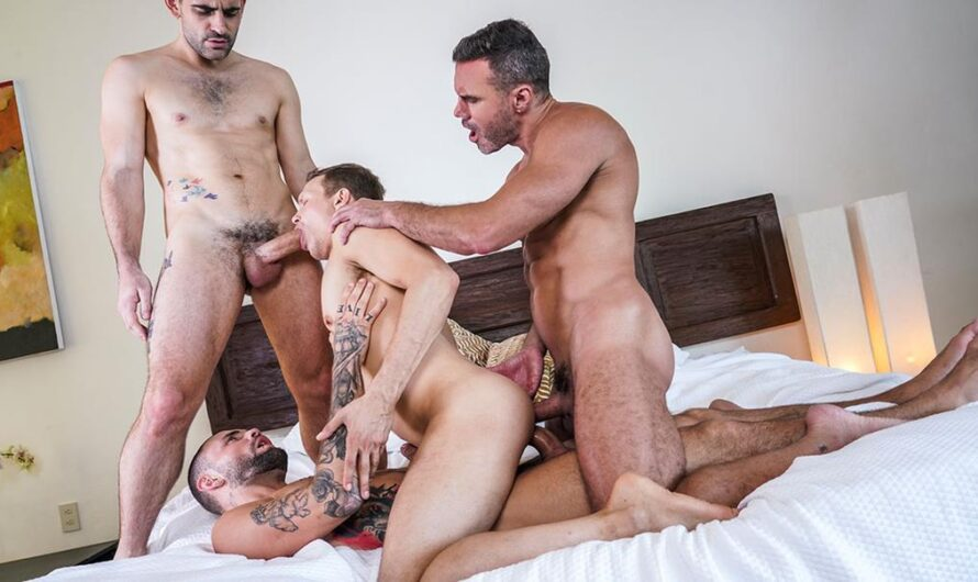 LucasEntertainment – Fucked To The Max – Ethan Chase, Jeffrey Lloyd, Manuel Skye, Max Arion